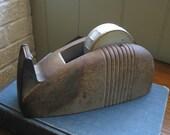 Vintage Cast Iron Tape Dispenser
