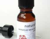 Moroccan Argan Blend NATURAL GLOW Face Elixir (with Rosehip, Blueberry, Carrot, Sea Buckthorn) - Sample Size