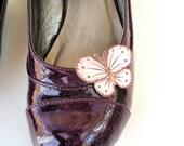 Butterfly shoe clips