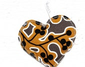 Little Heart Heating Pad, filled with cherry seeds, ready to ship