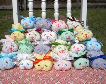 Boo Boo Bunny - 10 Mixed Bunnies for favors or gifts