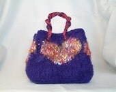 Joelle - A Hand Knitted/Felted Mini Gift Bag from the Gift of Love Bag Project