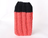 Hand knit phone sock for iphone, htc, galaxy, etc.