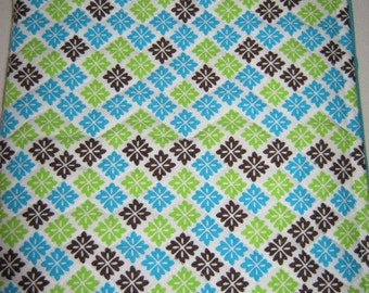NookColor NookCoverGreen Blue Brown Print