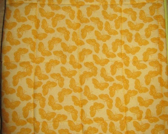 Nook Color Nook Cover Yellow Orange Butterfly Pattern