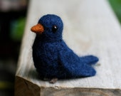 SALE - Needle Felted Bluebird
