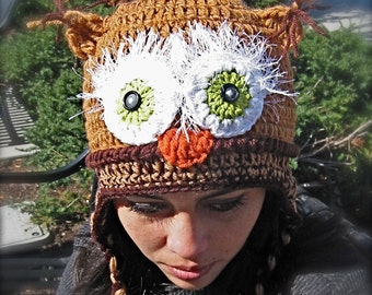 Brown Owl adult size