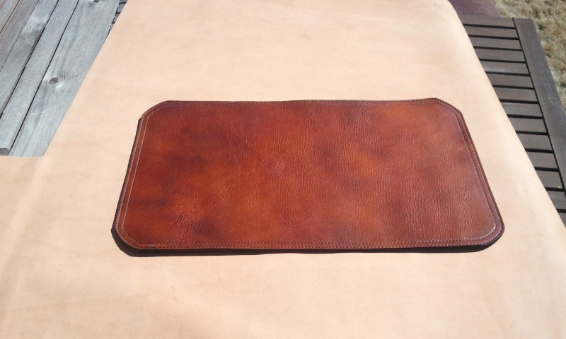 Double Sidded Leather Desk Mat X With