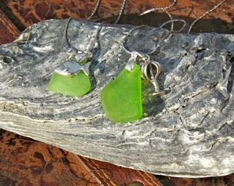 Mermaids tears.. Sea Glass Necklaces
