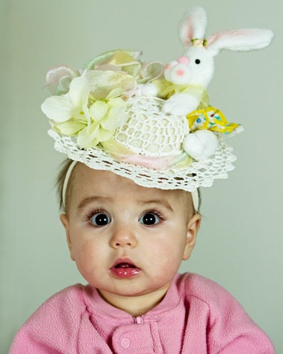 Baby Sun Hat with Removable Flower Clip - Baby Easter Bonnet (Hat with Small by Pretty Baby Bowtique. $ $ 15 out of 5 stars Product Features Fits most babies age 3monthsmonths Hat is made of soft stretchy cotton. Fun Express Polyester Tea Party Hat .