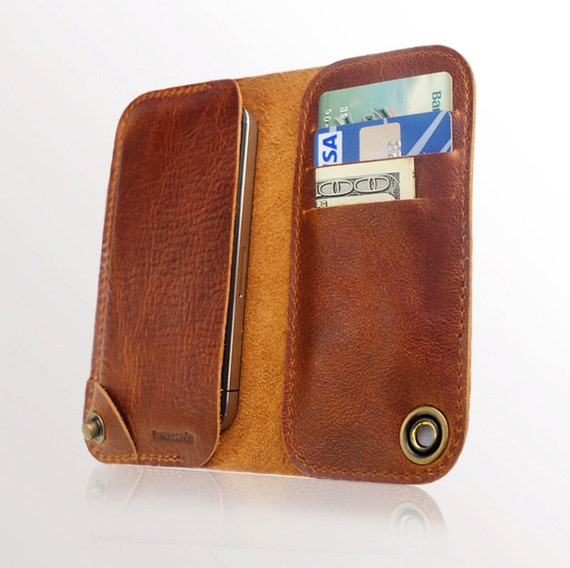 iPhone 5 leather case and wallet