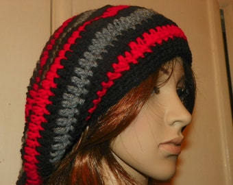 Beret Slouch   Hat  Red Black  Gray Popular Style  Teen  or Adult  Hat