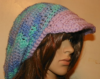 Newsboy Slouch Hat with a Brim Newsboy Fashion
