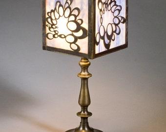 Table Lamp - Blue Deco
