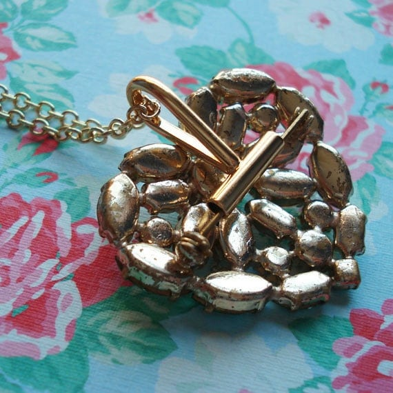 Brooch Converter Turn a New or Vintage Brooch into a Necklace Gold Plated Chain Convert Adapt Brooch to Necklace