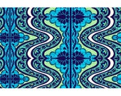 ON SALE-Amy Butler- Lark Collection -Gypsy in cobalt -1/2 yard