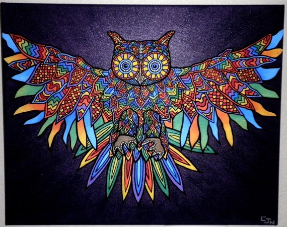 Night owl painting for Night owl paint color