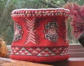 Tradition: twined basket