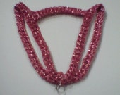 XXS Dog Harness in Red and Silver