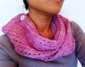 Pink Lace Wrap