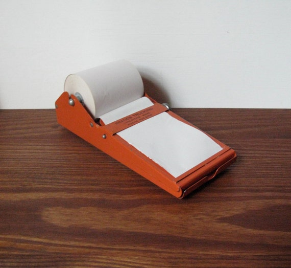 Vintage Metal Note Holder