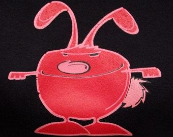 Bad Bunny womens short sleeved t-shirt