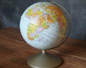 Vintage Tin Replogle 6 Inch Globe Savings Bank