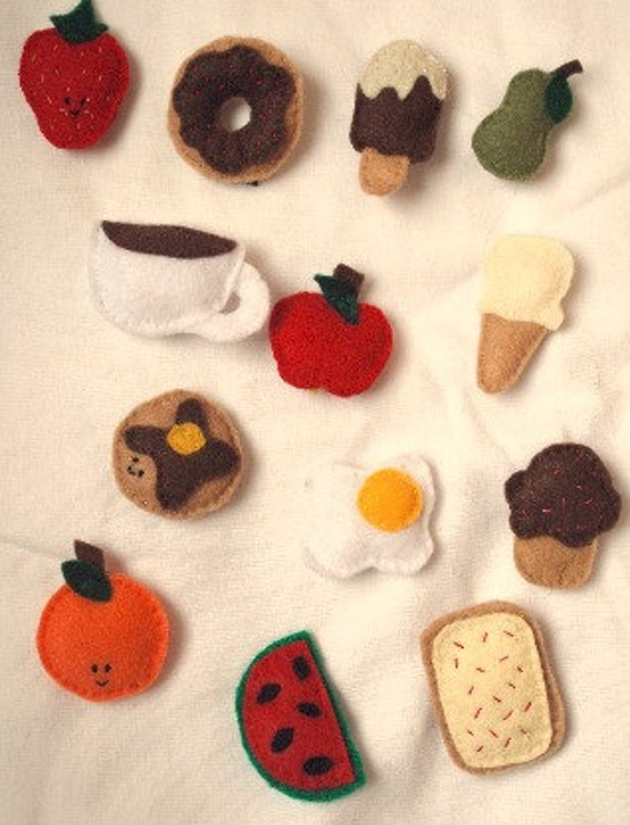 Felt Food Magnets - Free Shipping