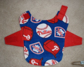 Philadelphia Phillies Fleece Dog Coat