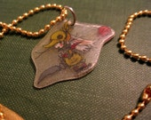 Chocobo Knight Moogle Necklace