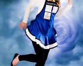 Custom Order for  MICHELLE P. - Do Not Buy Unless You are MICHELLE P. - Original TARDIS Apron