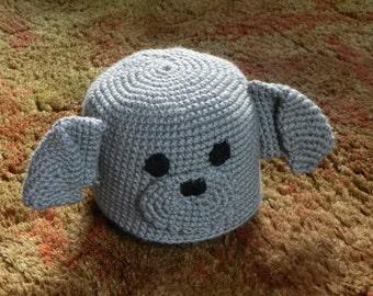 Grey Puppy Hat