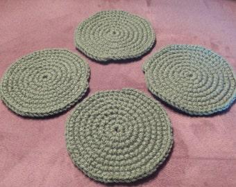 Sage Coasters - Set of 4