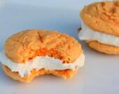 Oh So Orange Tookies Cookie-Wiches-1/2 Dozen