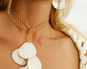 Shell White Necklace