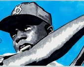 Jackie Robinson (Dodgers) Sketch Card - Baseball Player