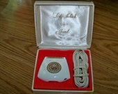 Vintage Lady Schick Electric Razor with Jewel - In Original Box - Works Fine