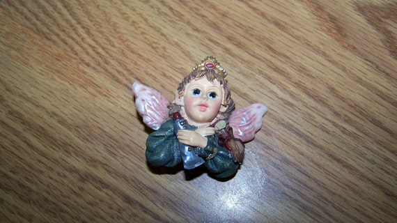 Vintage Ceramic Boyds Bears Brooch - Tooth Fairy -