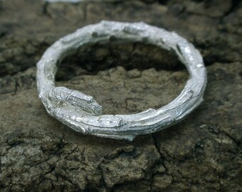 Evergreen Twig Ring
