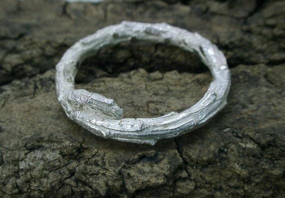 Evergreen Twig Ring