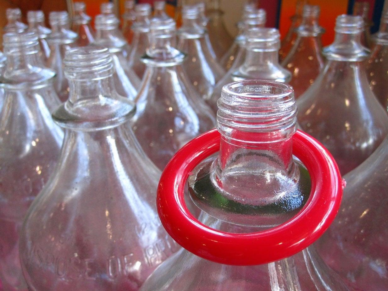 Yellow Ring Water Bottle