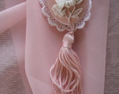 Private listing for IRENE: Butterfly Cameo Tassel