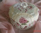 Gorgeous Mosaic Cake Dome ( Cake Cover )