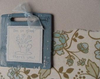 Appreciation cards - set of 3 - includes envelopes