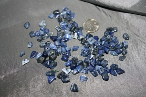 Blue Stone BEADS Sodalite Approx 120 pieces