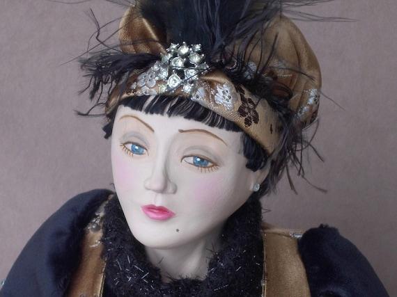 Art Doll Miss Velma Velour