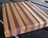 Large Maple and Walnut Cutting Board