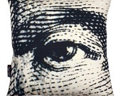 Benjamin Franklin Eye pillowcase (no insert)