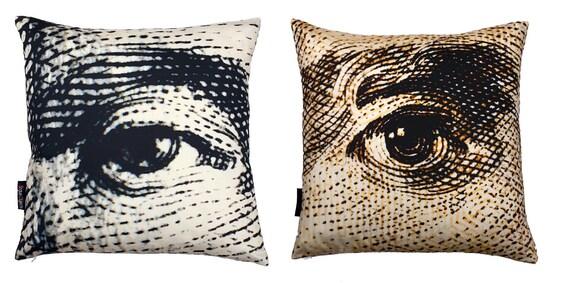 Benjamin Franklin/Abraham Lincoln Eye pillow