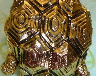 Jewelry Turtle Brooch